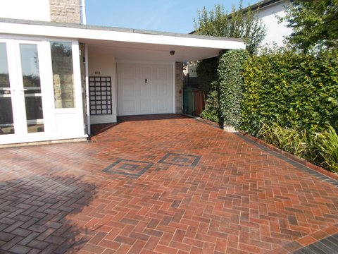 Sealed With Polyurethane Block Paving Sealer