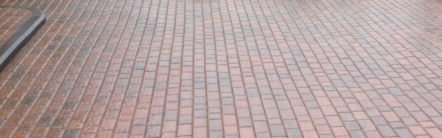 Drive way Block Paving completed with driveway sealant