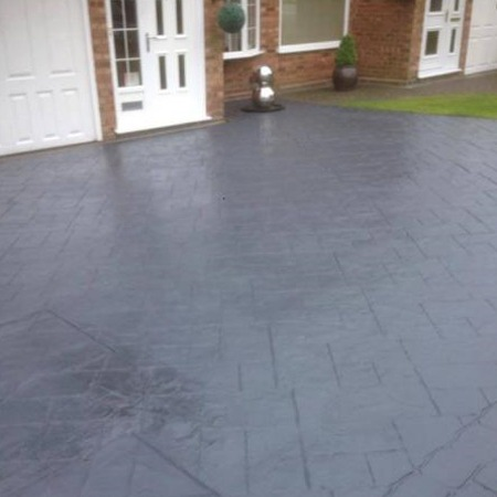 Block Sealer coloured acrylic sealer sheen dark grey complete drive